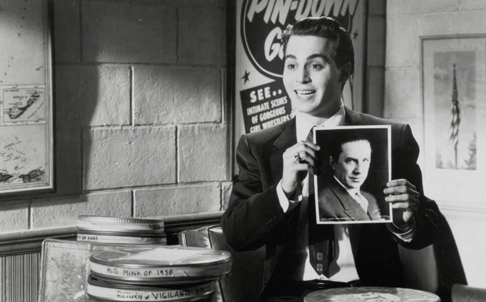 Edward Davis Wood Jr (Johnny Depp) cinéaste au talent immense ?
