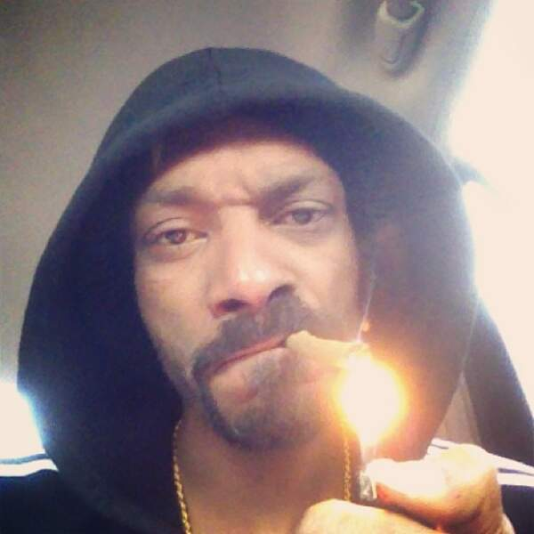 Le selfie rebelle par Snoop Dogg himself