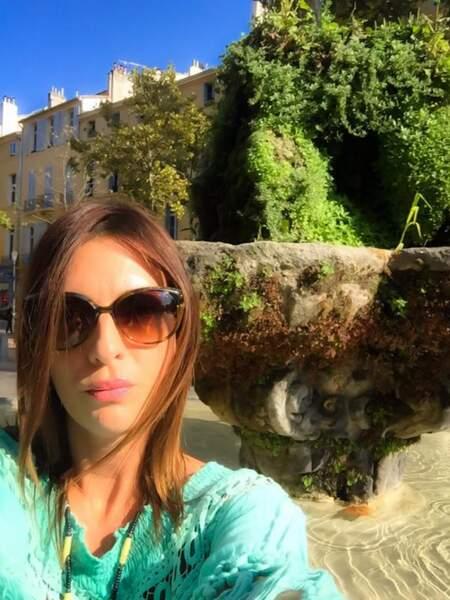 Et version roche miniature pour Eve Angeli à Aix-en-Provence.
