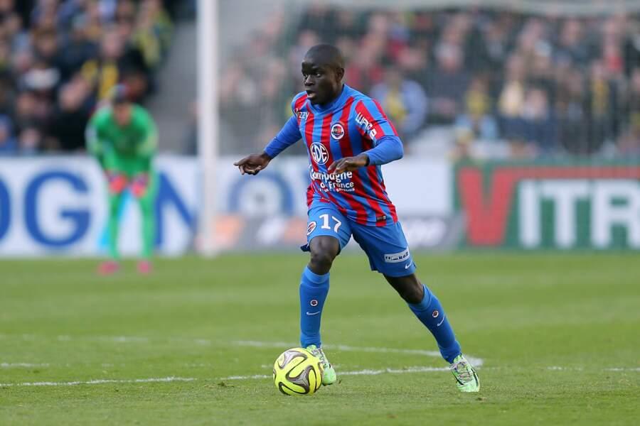 Leicester a signé un chèque de 9 millions d'euros à Caen pour s'offrir les services du milieu défensif N'Golo Kanté