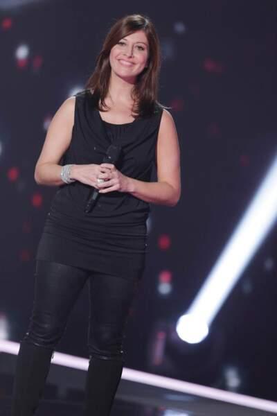 Sophie Delmas, 43 ans, talent de l'équipe de Florent Pagny