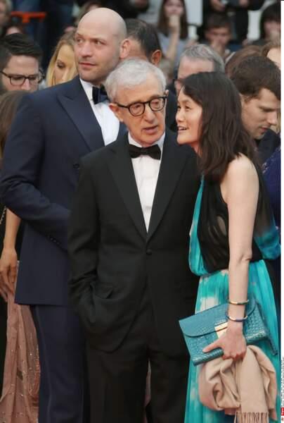 Woody Allen ne rigole pas souvent, mais a le don de faire marrer sa femme, Soon-Yi. C'est déjà ça !