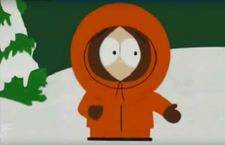 Kenny de South Park prononce bel et bien des mots. Mais avec son épaisse capuche, impossible de comprendre.