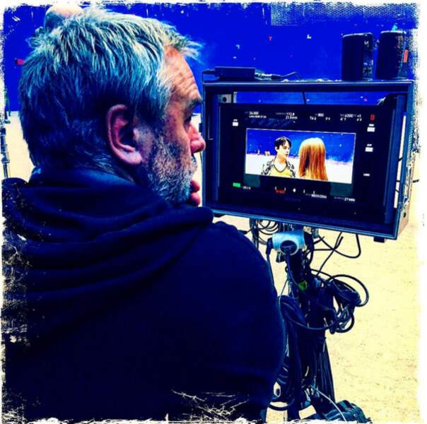 Le réalisateur au travail