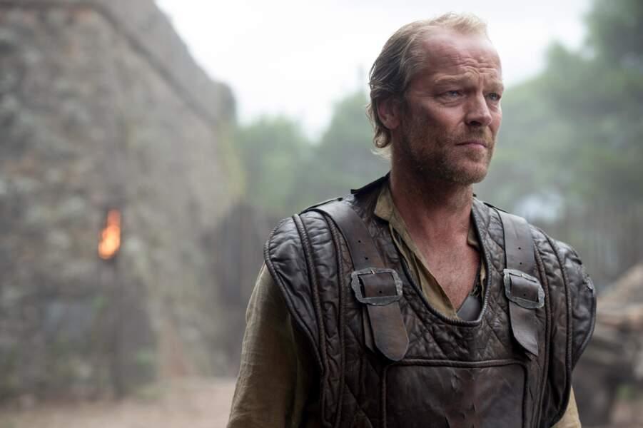 Iain Glen joue Jorah Mormont, le mentor rejeté de Daenerys