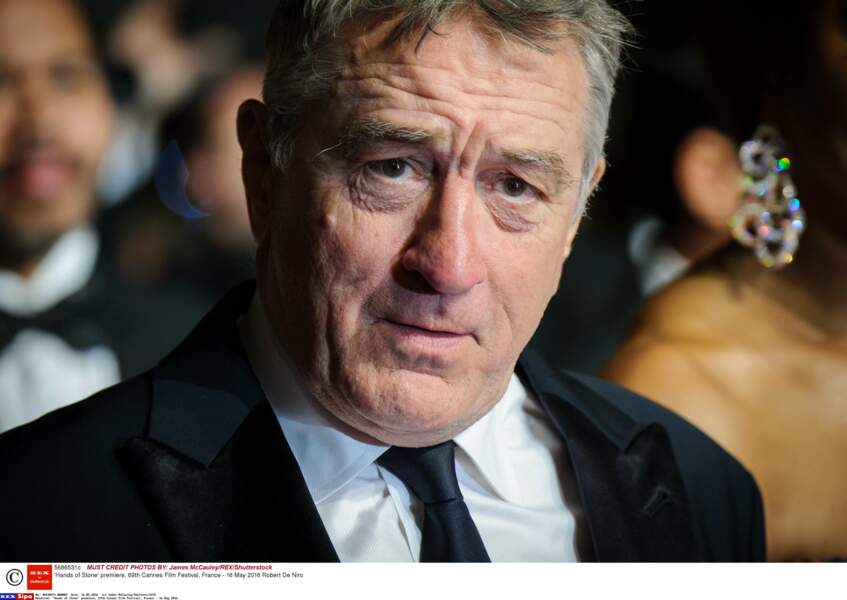 À 72 ans, Robert de Niro est venu à Cannes pour le film Hands of Stone