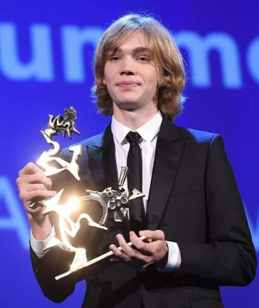 A 18 ans, l'Américain Charlie Plummer a été sacré meilleur espoir pour sa performance dans Lean on Pete