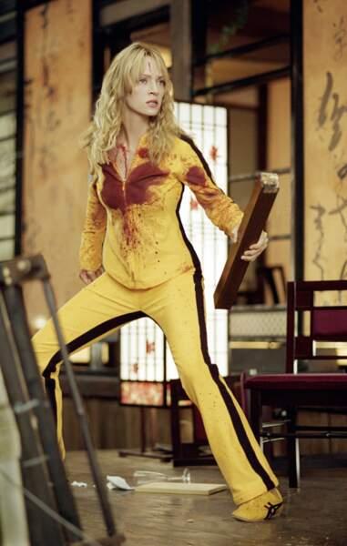 Après le noir corbeau, le blond ensanglanté d'Uma Thurman dans Kill Bill