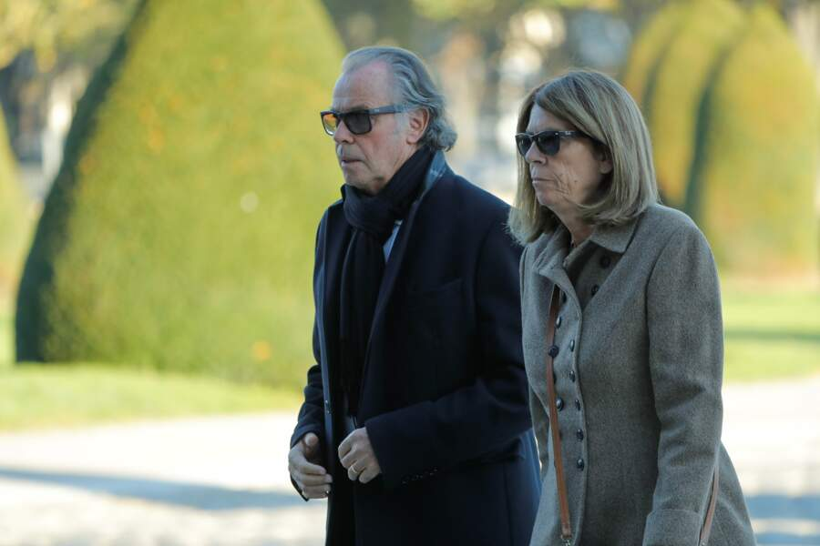 tandis que Michel Leeb était accompagné de son épouse Béatrice