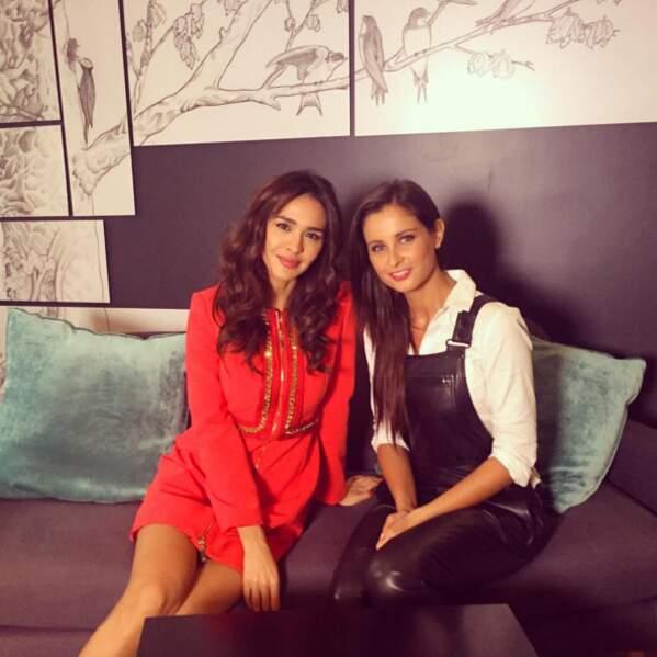 Coulisses : Malika Ménard a interviewé Leila Ben Khalifa pour Télé Loisirs (youhou) !