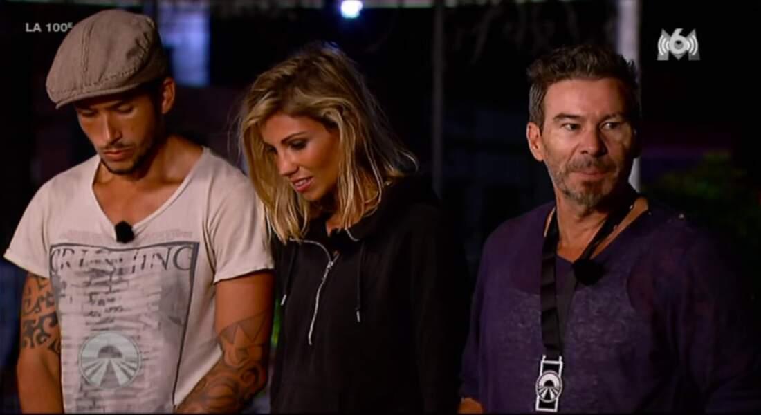 Fabien et Tarik expliquent qu'ils leur ont donné ce handicap car Lolotte les a agacés durant l'épreuve...