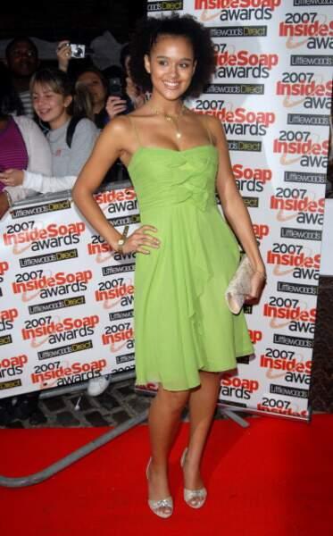 Nathalie Emmanuel a participé pendant quatre ans à Hollyoaks.