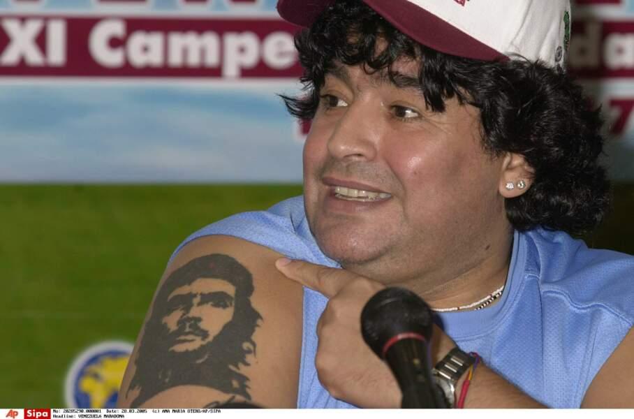 Maradona fier de son Che