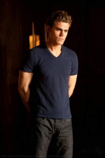 Paul Wesley était Stefan, l'un des deux frères Salvatore.