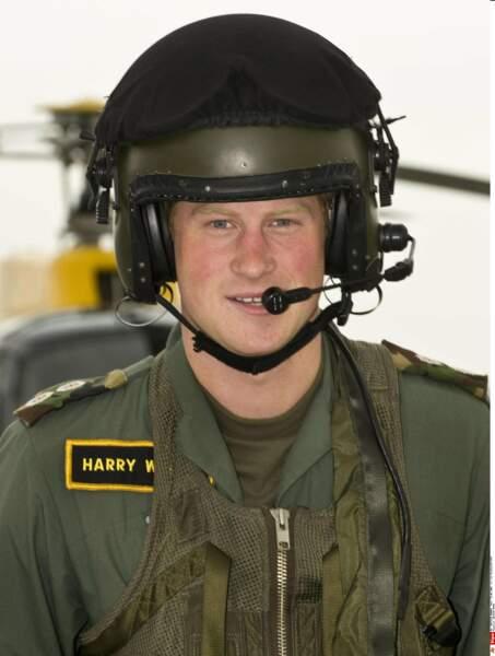 Harry, pilote d'hélicoptère Apache.