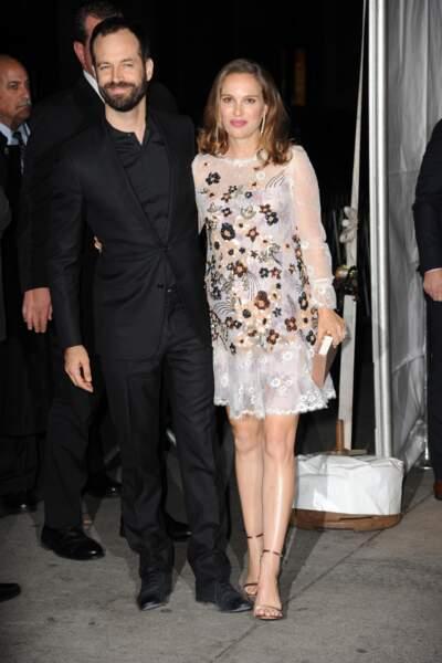 Natalie Portman et Benjamin Millepied se sont aussi prêtés au jeu des photos de couple