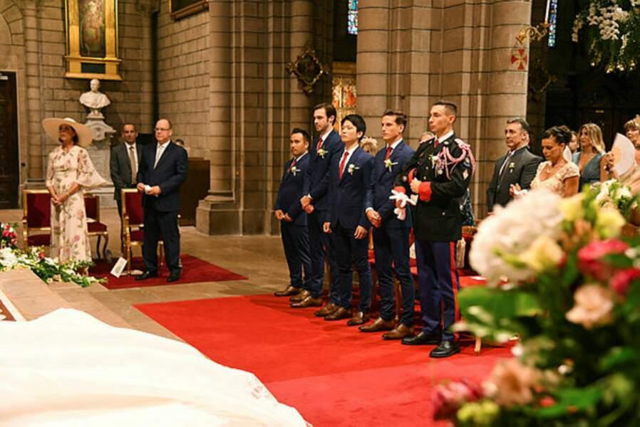 Tous les membres (ou presque) des familles Ducruet et Grimaldi sont présents