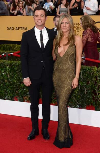 Malgré tous ces succès, côté coeur, l'actrice annonce sa rupture avec Justin Théroux en février 2018