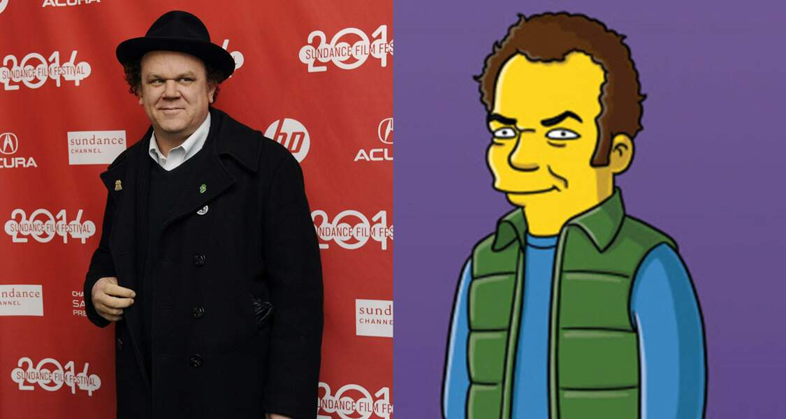 L'acteur John C. Reilly