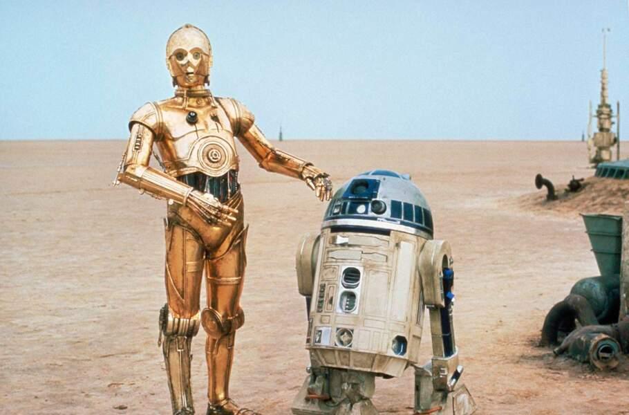 R2D2 (Star Wars) : Pas facile d'être mignon quand on est un robot. R2 y arrive et en plus, il est trop fort !