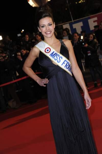 Marine Lorphelin (Miss France 2013) symbole de l'élégance à la française...