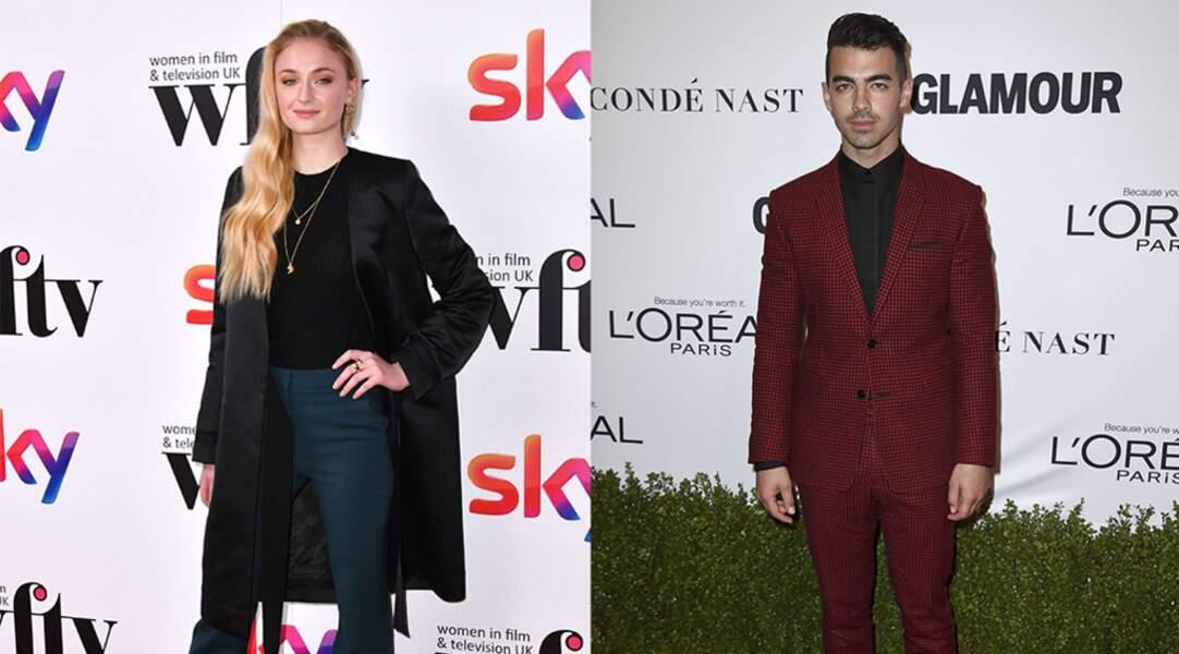 L'actrice Sophie Turner fréquente depuis peu le chanteur Joe Jonas.