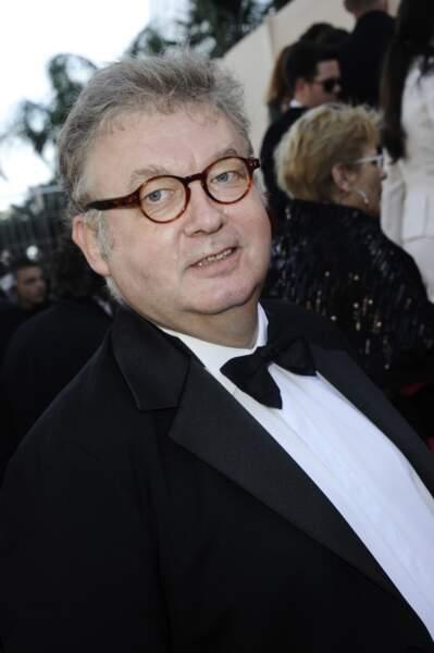 Dominique Besnehard n'allait, lui non plus, pas manquer Guillaume Canet et Marion Cotillard.