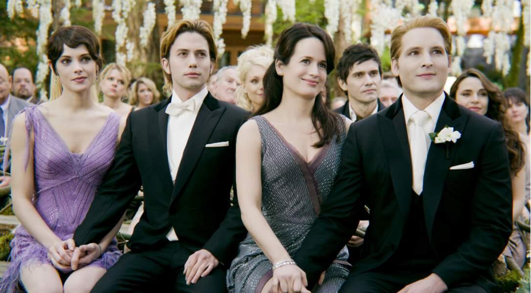 Et la voilà en vampire de Twilight. Grrrrr !