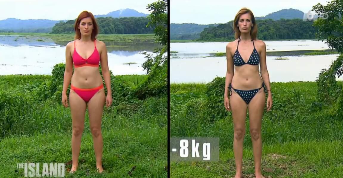 Julieta, la médecin du groupe, a fondu : moins 8 kilos !