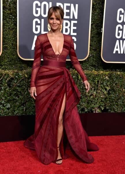 Halle Berry, sublime dans sa tenue