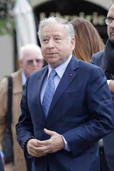 Jean Todt, patron de la Fédération internationale de l'automobile, était présent
