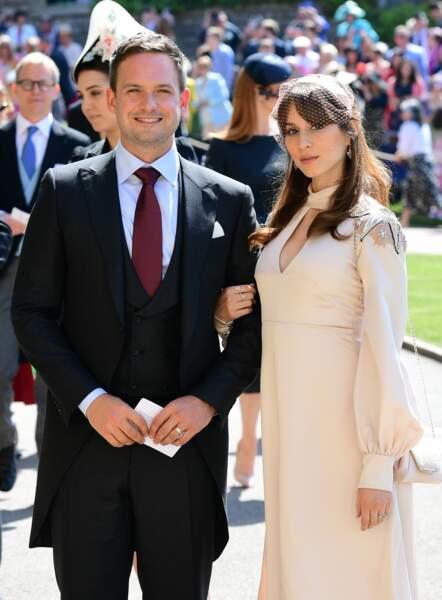 Patrick J Adams, l'acteur principal de la série Suits, et sa femme Troian Bellisario
