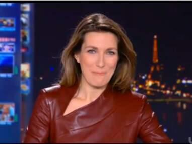 Anne-Claire Coudray sexy ou élégante à la tête du JT : Son look en images