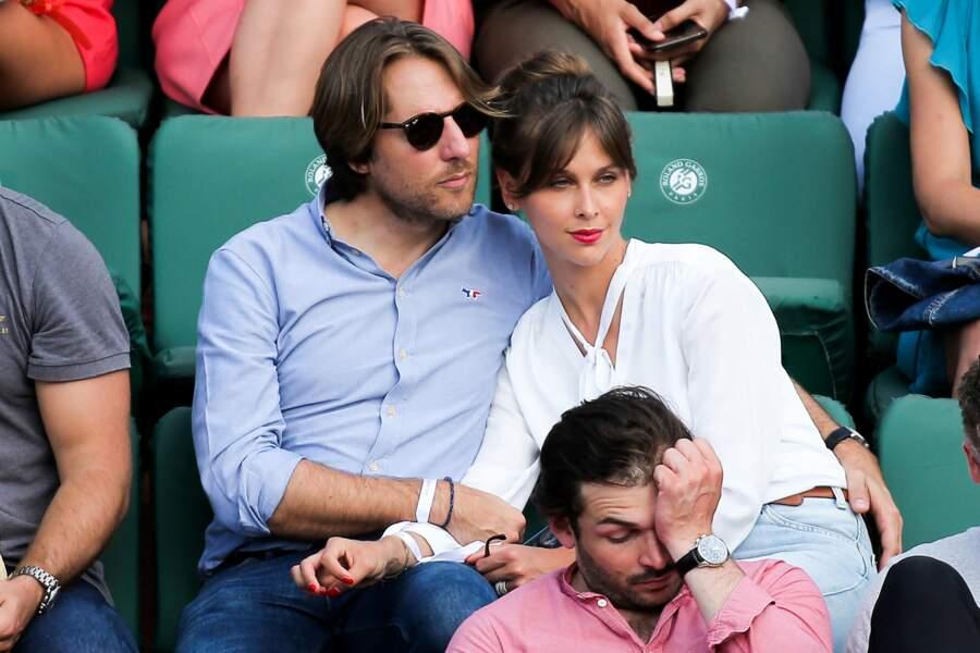 Ophélie Meunier et son mari Mathieu Vergon