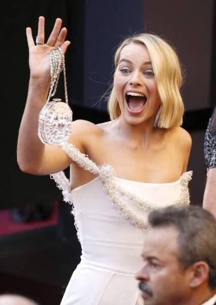 Margot Robbie, la star de Moi, Tonya