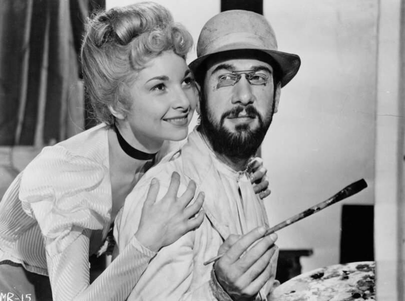 Qui est cette blonde me direz-vous ? Mme Colette Marchand, dans Moulin Rouge (1952)