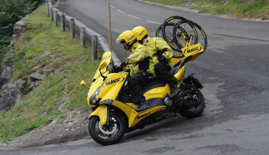 La moto Mavic