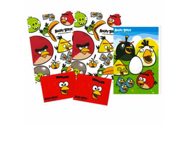 Cartes de voeux Angry Birds