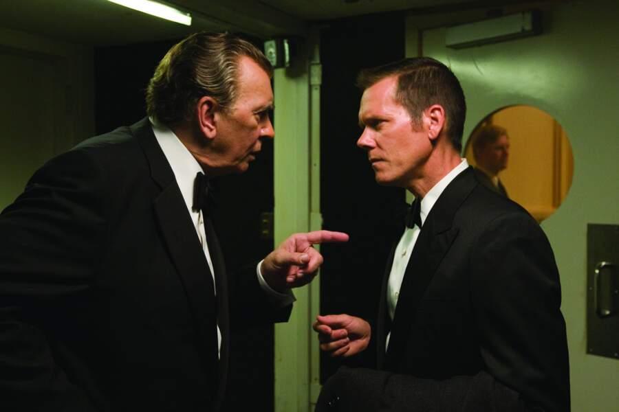 Frost/ Nixon conte les entretiens télé du journaliste David Frost face à l'ancien Président américain Richard Nixon