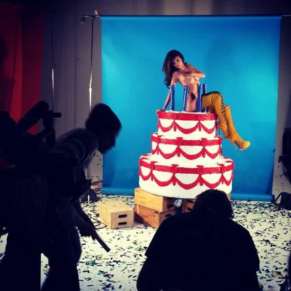 Emily, c'est la cerise sur le gâteau.