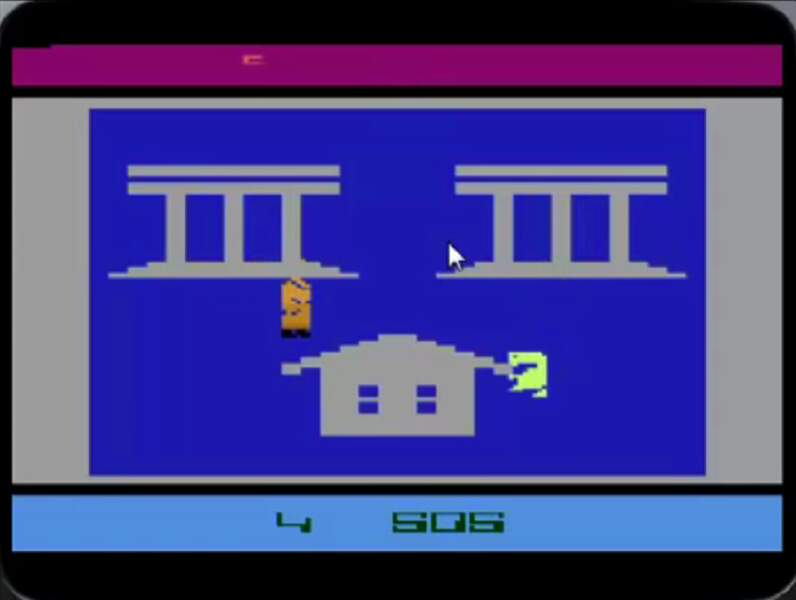 1982 - E.T. l'extraterrestre (Atari 2600)
