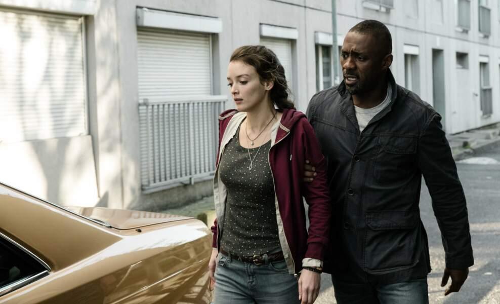 Bastille Day en 2016, elle a pour partenaire Idris Elba. Trop de chance !