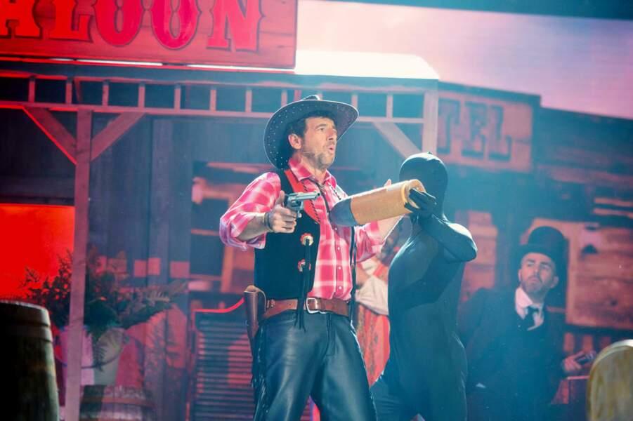 Patrick Bruel en cow-boy, vous aimez ?