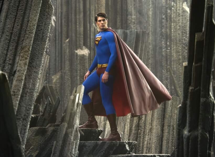 Brandon Routh reprend le rôle dans Superman returns (2006)