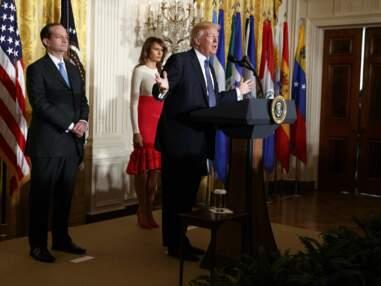 Melania Trump dévoile sa poitrine dans une tenue TRÈS moulante