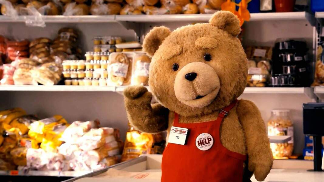 Ted : Méfiez-vous de ce petit ours ! Sous les poils se cache un amateur de bières et de femmes de petite vertu