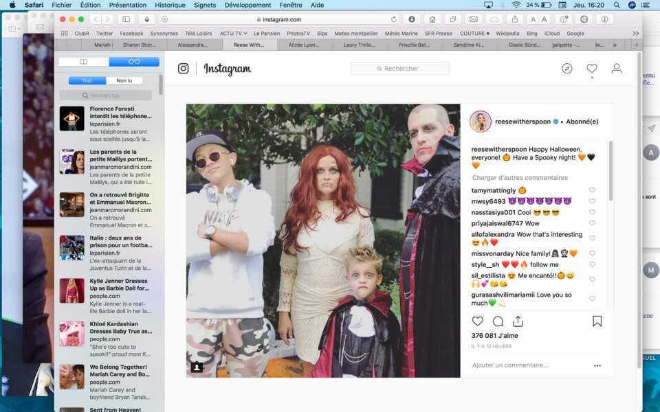 Reese Witherspoon et les siens ont quant à eux revisité le mythe du vampire