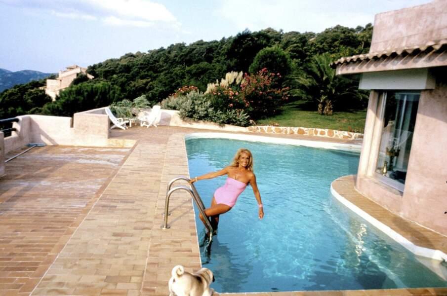 Dalida partageait sa vie entre le quartier de Montmartre à Paris et sa maison en Corse.