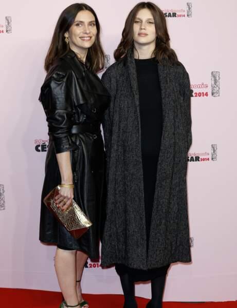 Géraldine Pailhas et Marine Vacth, les deux actrices de Jeune et Jolie de François Ozon.