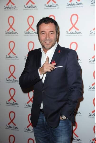 Bernard Montiel lors de la soirée de lancement du Sidaction 2016